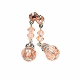 Swarovski Crystal Line Drop Earrings