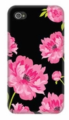 Glam Midnight Blossom 4/4S iPhone Case