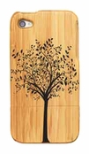 Tree of Life Bamboo iPhone 4/4s Case