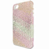 Full Crystal Light Rose Multi Iphone 4 Cell Phone Case
