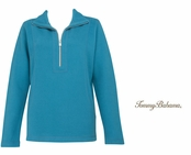 Amalfi Sea Aruba Half Zip Sweatshirt by Tommy Bahama