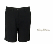 "Black Jet Away 9"" Bermuda Shorts by Tommy Bahama"