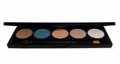 Tropical Escape Five Shadow Pressed Mineral Palette  by Pacific Illusions Beauty