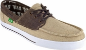 Men's Tan and Brown Mariner Sidewalk Surfers by Sanuk