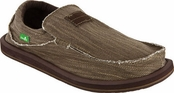 Men's Brown Kyoto Sidewalk Surfers by Sanuk