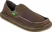 Men's Chocolate Hey Jute Sidewalk Surfers by Sanuk