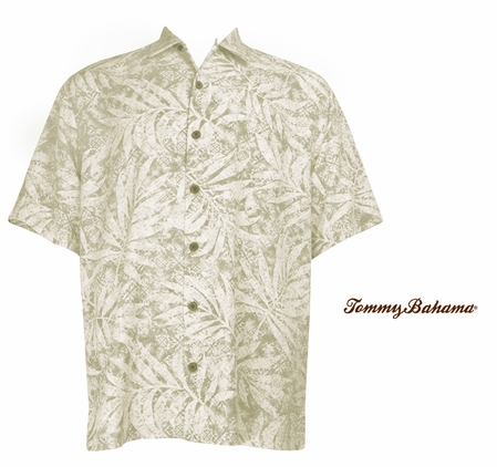Shoreline Palm City Silk Camp Shirt by Tommy Bahama