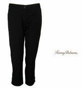 Black Twill Jet Away Crop Pants by Tommy Bahama