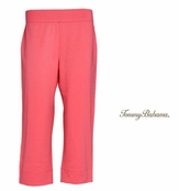 Melon Berry Mai Tai French Terry Crop Pants by Tommy Bahama