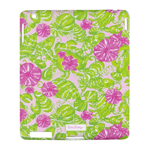 Lilly Pulitzer iPad 2 Cover - Chum Bucket