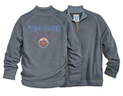 New York Mets Half Zip Sweatshirt by Tommy Bahama