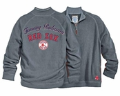 Boston Red Sox Half Zip Sweatshirt by Tommy Bahama