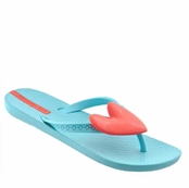 Blue Neo Summer Love Flip Flops by iPANEMA