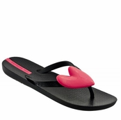 Black Neo Summer Love Flip Flops by iPANEMA