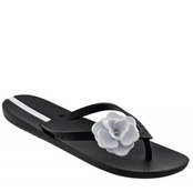 Black Neo Maxi Flip Flops by iPANEMA