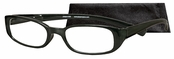 Peepers Black Timeless Reading Glasses