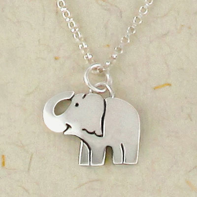 Elephant Whimsy Necklace by Far Fetched