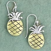 Pineapple Earrings by Far Fetched