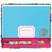 Lilly Pulitzer Pen and Notecard Set Chiquita Bonita