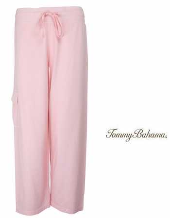 Crystal Rose Alani Terry Cropped Pants by Tommy Bahama