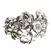 Alexia Crawford Roses and Pearls Bracelet