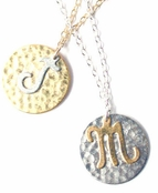 Initial Necklace by Janna Conner