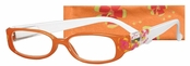 Peepers Orange Aloha Reading Glasses
