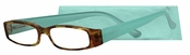 Peepers Tortoise and Sea Green Top Drawer Reading Glasses