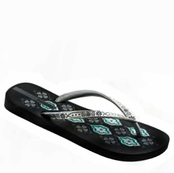 Black and Silver Trends V Flip Flops by Ipanema