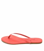 Tkees Lipstick Collection Strawberry Daquari Leather Sandals