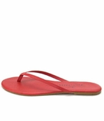 Tkees Lipstick Collection Candy Apple Leather Sandals