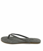 Tkees Creams Velvet Fog Suede Sandals