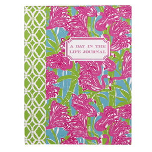 Lilly Pulitzer A Day in the Life Journal - Fan Dance