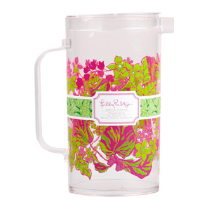Lilly Pulitzer Acrylic Pitcher - Luscious