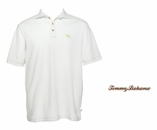 White The Emfielder Polo by Tommy Bahama