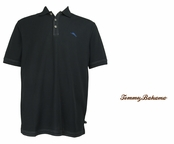 Black The Emfielder Polo by Tommy Bahama