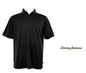 Black Midnight Diamond Polo by Tommy Bahama