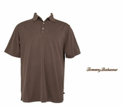 Dark Truffle Midnight Diamond Polo by Tommy Bahama