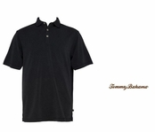 Black Superfecta Stripe Polo by Tommy Bahama