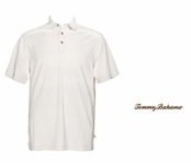 Eggshell Superfecta Stripe Polo by Tommy Bahama