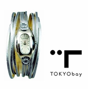 Tokyo Bay Silver Angel Watch for Women