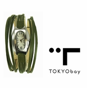 TOKYObay Green Angel Hour Watch for Women