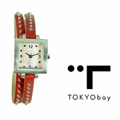 TOKYObay Red Medusa Watch for Women