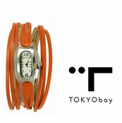 TOKYObay Orange Angel Hour Watch for Women