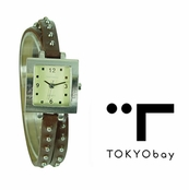 TOKYObay Brown Medusa Watch for Women