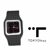 TOKYObay Black Carnaby Watch for Women