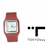 TOKYObay Red Carnaby Watch for Women
