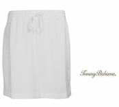 White Alani Terry Skirt by Tommy Bahama