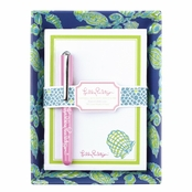 Lilly Pulitzer Catchball w/ Note Sheets & Pen - Fallin' In Love