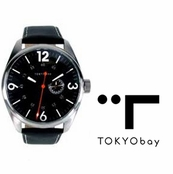 TOKYObay Black Jazz Watch for Men